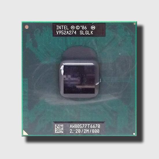 Intel Core 2 Duo T6670